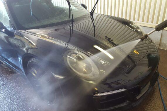 Biltvätt Porsche