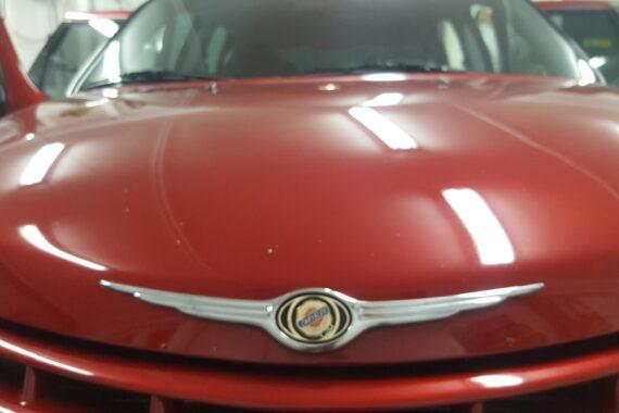 Nytvättad Chrysler